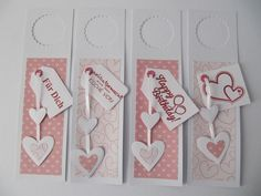 4 Flaschenanhänger Geburtstag Shots Ideas, Punch Board, Candy Cards, Gift Wrapping, Wrapping Ideas, Paper Tags, Deco, Scrapbooks, Bookmarks