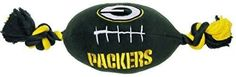 NFL Green Bay Packers Football Pet Plush Toy