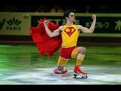 Javier Fernandez in the Olympic Figure Skating Gala Javier Fernandez, Medvedeva, Ice Skaters, Hanyu Yuzuru, Olympic Games, Figure Skating, Olympics, Haha, Sports