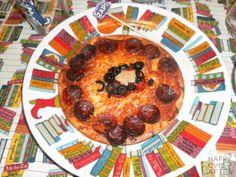 Fiesta Los Vengadores. Casi Pizza del Capitán América (Todo proporcionado por la anfitriona)