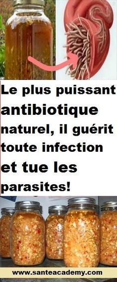 Many experts around the world think that this is the most powerful natural antibiotic – ever made. Yes, and you should definitely try it because this powerful remedy cures any infection in the human…More Holistic Remedies, Natural Health Remedies, Natural Cures, Natural Healing, Les Parasites, Health And Wellness, Health Tips, Cold And Cough Remedies, Natural Antibiotics
