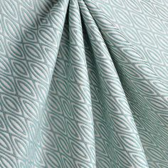 Suburban Home Lana Aqua Fabric