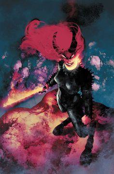 "The Uncanny X-Men ""Volume 3, Number 7"" Cover Art By Frazer Irving  (2013)"