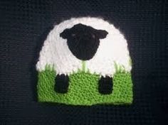 crochet sheep hat - Google Search