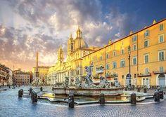 #Rom är en stad av ekon, en stad av illusioner, en stad av längtan - Giotto di Bondone (1267-1337)