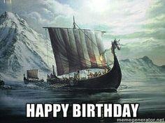 Happy Birthday, Wikinger, Vikings