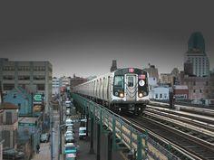"Elevated trains,""the Ele"""