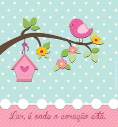 Iphone wallpaper cute little bird. Cute Wallpapers, Wallpaper Backgrounds, Bird Wallpaper, Flowery Wallpaper, Iphone Wallpapers, Diy And Crafts, Paper Crafts, Baby Quilts, Scrapbook Paper