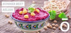 Summer Beet Relish You will need: Doterra Recipes, Diet Recipes, Empanadas, Delicious Hummus Recipe, Chicken Diet Recipe, Cooking With Essential Oils, Beet Hummus, Raw Vegetables, Veggies