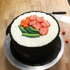 Pin for Later: Watching These Cake Decorating Videos Is the Most Satisfying Thing You'll Do All Day Sushi