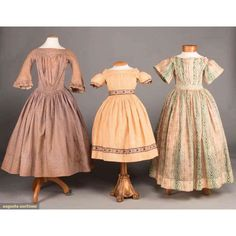 North America's auction house for Couture & Vintage Fashion. Augusta Auctions accepts consignments of historic clothing and textiles from museums, estates and individuals. Victorian Children's Clothing, Antique Clothing, Historical Clothing, Victorian Fashion, Vintage Fashion, Petite Fashion, Boho Fashion, Fashion Dresses, Hijab Fashion