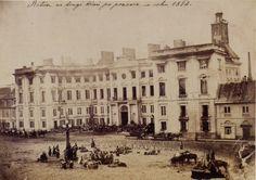 Pałac Jabłonowskich (Ratusz (1819-1939)), Warszawa - 1863 rok, stare zdjęcia