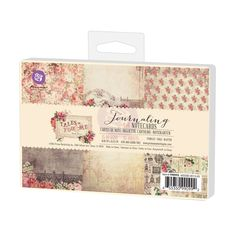 Prima - Tales of You and Me Collection - 4 x 6 Journaling Cards