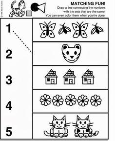Arquivo dos álbuns Nursery Worksheets, 1st Grade Worksheets, Teacher Worksheets, Worksheets For Kids, Preschool Lessons, Preschool Math, Kindergarten Worksheets, Educational Activities For Kids, Preschool Activities