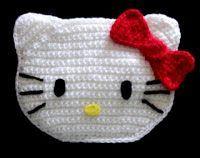 Crochet y demos: Bolso hello kitty