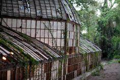 El antiguo invernadero de la Hacienda Nadales de Málaga.
