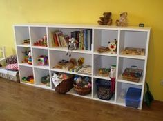 DIY Montessori material and toys storage | Стеллаж для игрушек своими руками. Подробный мастер-класс