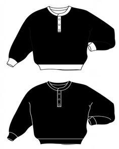 헨리넥 스웨트 셔츠