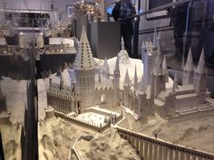 Risultati immagini per hogwarts castle miniature layout plane Harry Potter Castle, Harry Potter Dolls, Harry Potter Studios, Harry Potter Movies, Harry Potter Hogwarts, Kids Castle, Fantasy Castle, Paper Models, Decoration
