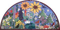 Mosaic Art Gallery   community mosaic art project   costhorpe vintage club nottinghamshire ...