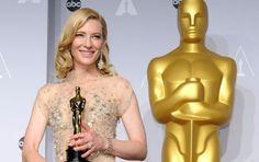 Cate Blanchett - Best actress #oscars2014
