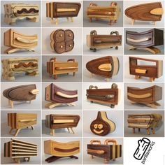 Ted's Woodworking Plans - Woodworking Plans and Tools — via /r/woodworking Get A Lifetime Of Project Ideas & Inspiration! Step By Step Woodworking Plans Learn Woodworking, Teds Woodworking, Woodworking Crafts, Funky Furniture, Wood Furniture, Furniture Design, System Furniture, Furniture Plans, Bandsaw Projects