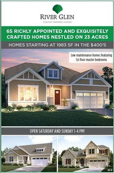 Gorgeous custom inspired homes in Libertyville starting in the $400's. Call us today for more info 312-685-2354
