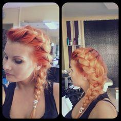 Frozen hairstyle