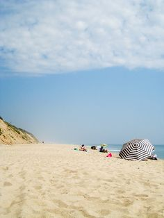 Cape Cod, Massachusetts - Nothing like a dreary rainy day to make you dream of going to the beach.