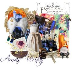 Practical Magic - Little Owens Set by justina-marie-1 on Polyvore