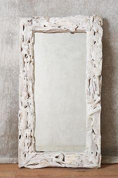 Anthropologie Driftwood Mirror