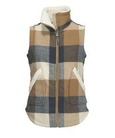 Women's Giant Buffalo Wool Vest II for $139 from Woolrich