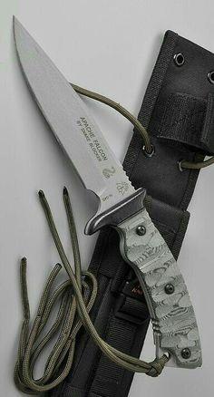 Tops Knives Apache Falcon Fixed Blade Knife Tactical Survival, Tactical Knives, Survival Knife, Tactical Gear, Cool Knives, Knives And Tools, Knives And Swords, Bushcraft, Mens Toys