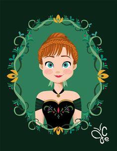 A Joey Ellson é das Filipinas e trabalha como designer e ilustradora. Seus desenhos são sempre muito fofos e com uma inspiração bastante delicada e inocente. Com seus traços fofos, Joey fez a sua versão das Princesas Disney em molduras que combinam bastante com cada uma. São ou não são uma graça? Fiquei encantada com a interpretação de Joey das princesas. Os desenhos, além de lindos, ficariam bem legais em uma...