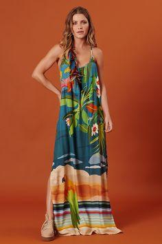 Sara Fashion, Fashion Details, Womens Fashion, Nice Dresses, Summer Dresses, Fashion Prints, Silk Dress, Casual Chic, Plus Size
