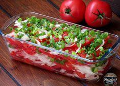 Sałatka król stołu - Obżarciuch Salsa, Gluten Free, Vegetables, Ethnic Recipes, Food, Glutenfree, Essen, Sin Gluten, Vegetable Recipes
