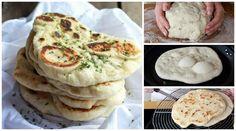 Receita passo a passo: como fazer pão pita ou pão árabe em casa No Salt Recipes, Gourmet Recipes, Appetizer Recipes, Sweet Recipes, Cooking Recipes, Vegan Bread, Lebanese Recipes, Base Foods, Pain
