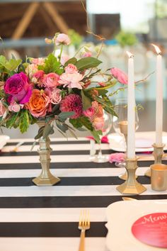"""Chic Parisian """"Le Jardin"""" Inspired Tablescape 