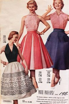 Patio skirt - Again, look at the idea of different colored panels if you don't have enough of the fashion fabric.
