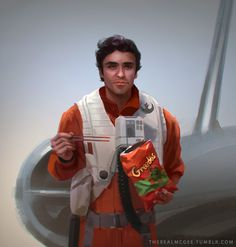 Light side training montage based on actor's social media posts by therealmcgee: Poe Dameron