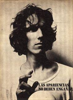 Luis Alberto Spinetta - 1971  Entrevista en la Revista Pelo, No. 20    http://manodemandioca.blogspot.com/2012/02/entrluis-alberto-spinetta-1971.html