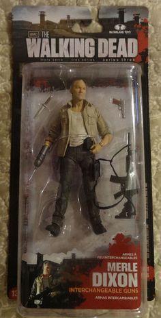 Mcfarlane The Walking Dead Series 3 1 Merle Action Figure Walking Dead Toys, Walking Dead Series, The Walking Dead, Horror Action Figures, When Is My Birthday, Merle Dixon, Geek Gadgets, Series 3, Old Toys
