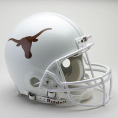 Riddell Texas Longhorns Collectible On-Field Helmet, White