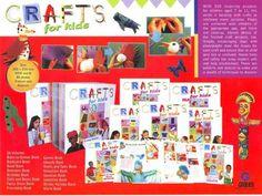 Grolier Craft For Kids atau Craft Untuk Anak-Anak adalah sebuah buku tentang bagaimana membuat prakarya dengan bahan-bahan yang sederhana dan mudah didapat, sehingga merangsang anak untuk berpikir…