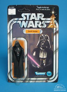 Kenner Canada 12 Back 'A' Star Wars Carded Figure