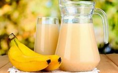 The Most Powerful Potion for a Flat Stomach Without Fat in 7 Days - Healthy Life Vision Healthy Drinks, Healthy Recipes, Healthy Food, Water Retention Remedies, Banana Benefits, Flat Stomach, Flat Belly, Flat Tummy, How To Lose Weight Fast