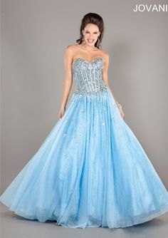 Cinderella :) Jovani 2739 - http://www.jovani.com/prom-dresses/jovani-2739-111209