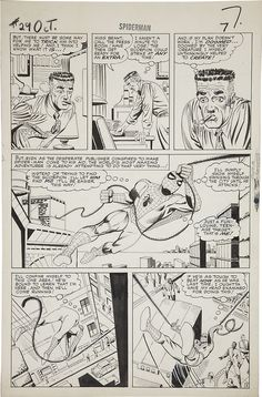Page from AMAZING SPIDER-MAN #29 by Steve Ditko
