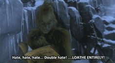 """Because you're not a people person and probably never will be. 