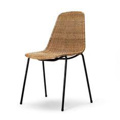The Basket chair was designed for a restaurant, as part of building project by Gian Franco Legler in 1951.  Gian Franco Legler received the Good Design Award for the BASKET chair from the Museum of Modern Art (MOMA) in New York in 1953.